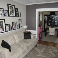 Living Room Feature Wall