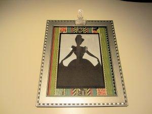 DIY Silhouette Artwork and Memo Holder