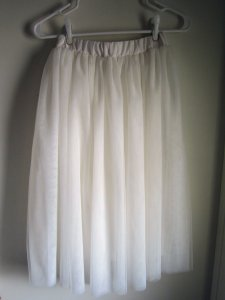 WhiteTulleSkirt