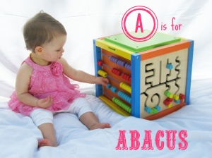 A is for abacus