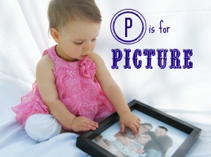P is for picture