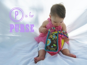 P is for purse
