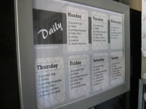 theelmlife_kitchencommandcentre_cleaningschedule