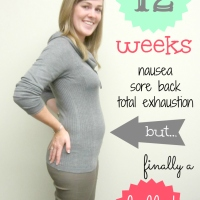 Pregnancy Photo: 12 Weeks