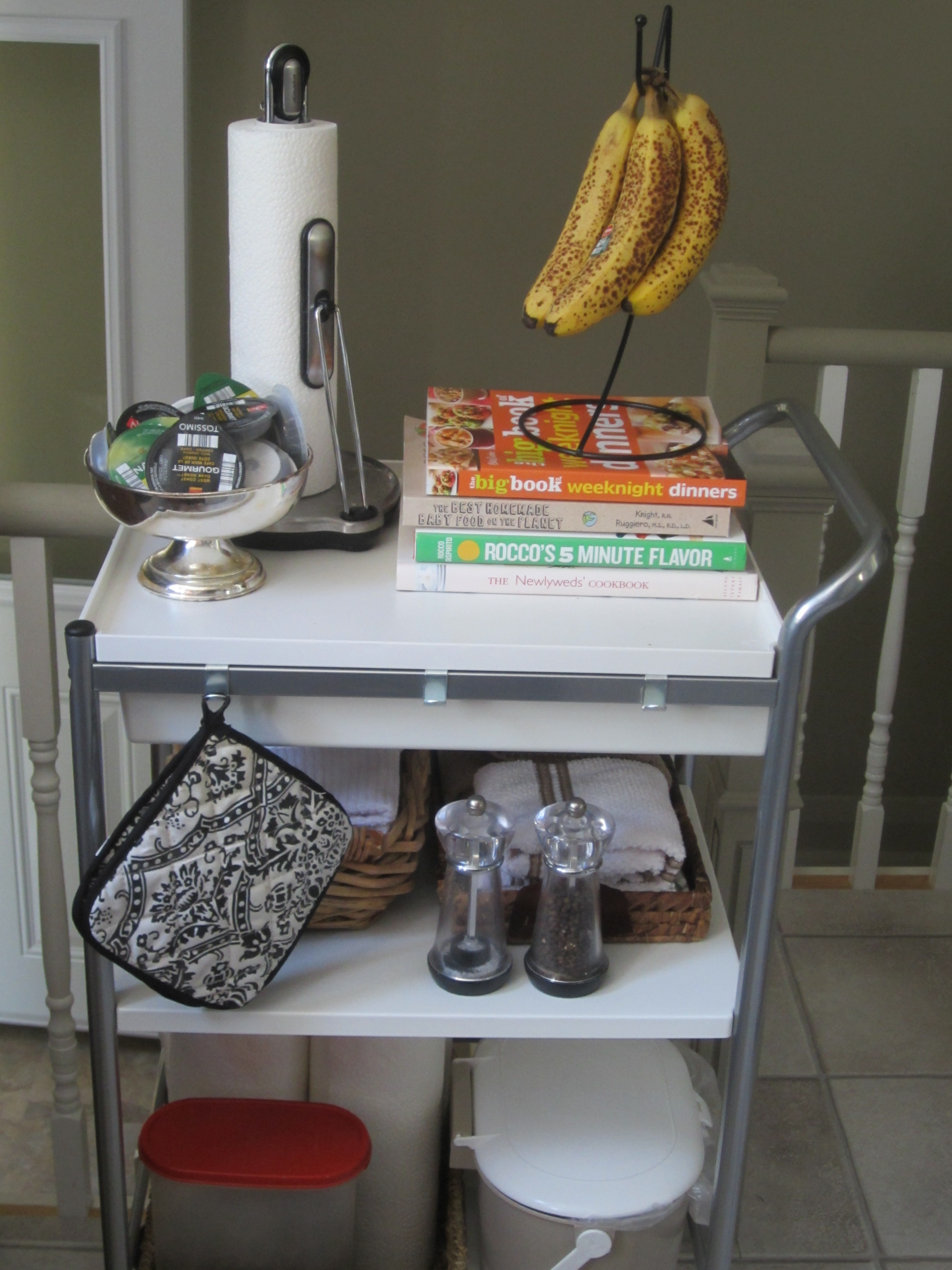 Ikea Schuhschrank Edelstahl ~ theelmlife kitchencart2