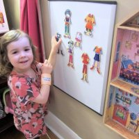 Magnetic Dress-up Doll Organization