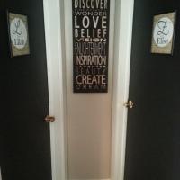 Updated Bedroom Door Name Artwork