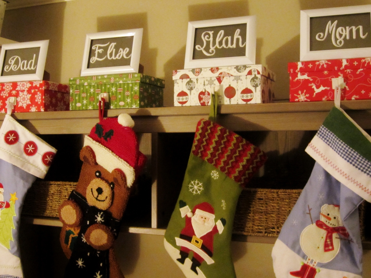 Personalized Stocking Holders