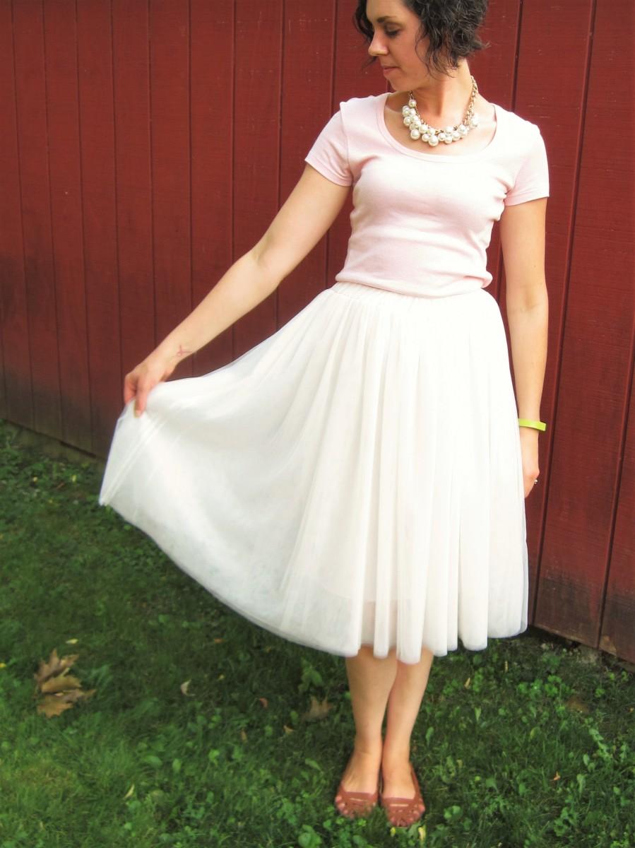 OOTD: Tulle Skirt