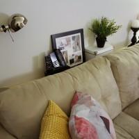 10 Minute DIY Sofa Table
