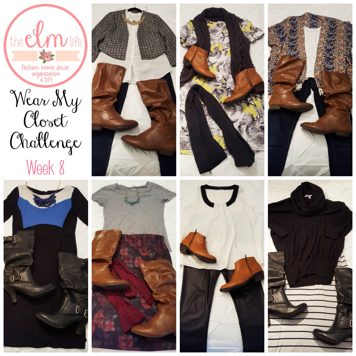 Wear My Closet Challenge - Week 8