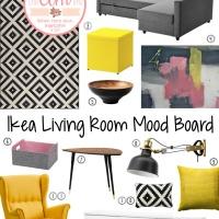 Ikea Living Room Mood Board